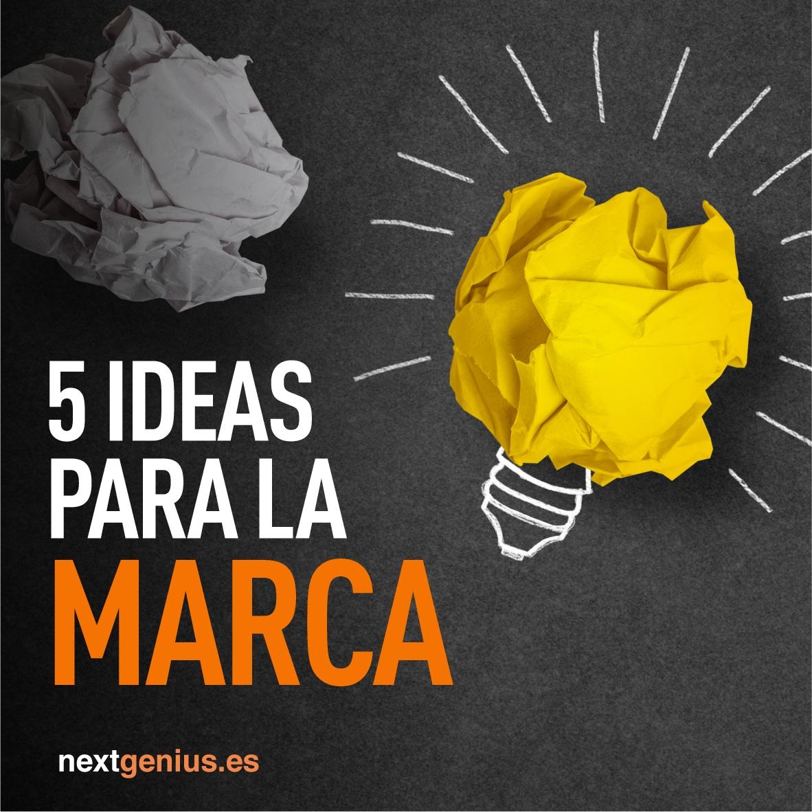 5 ideas para hacer un rediseño de marca