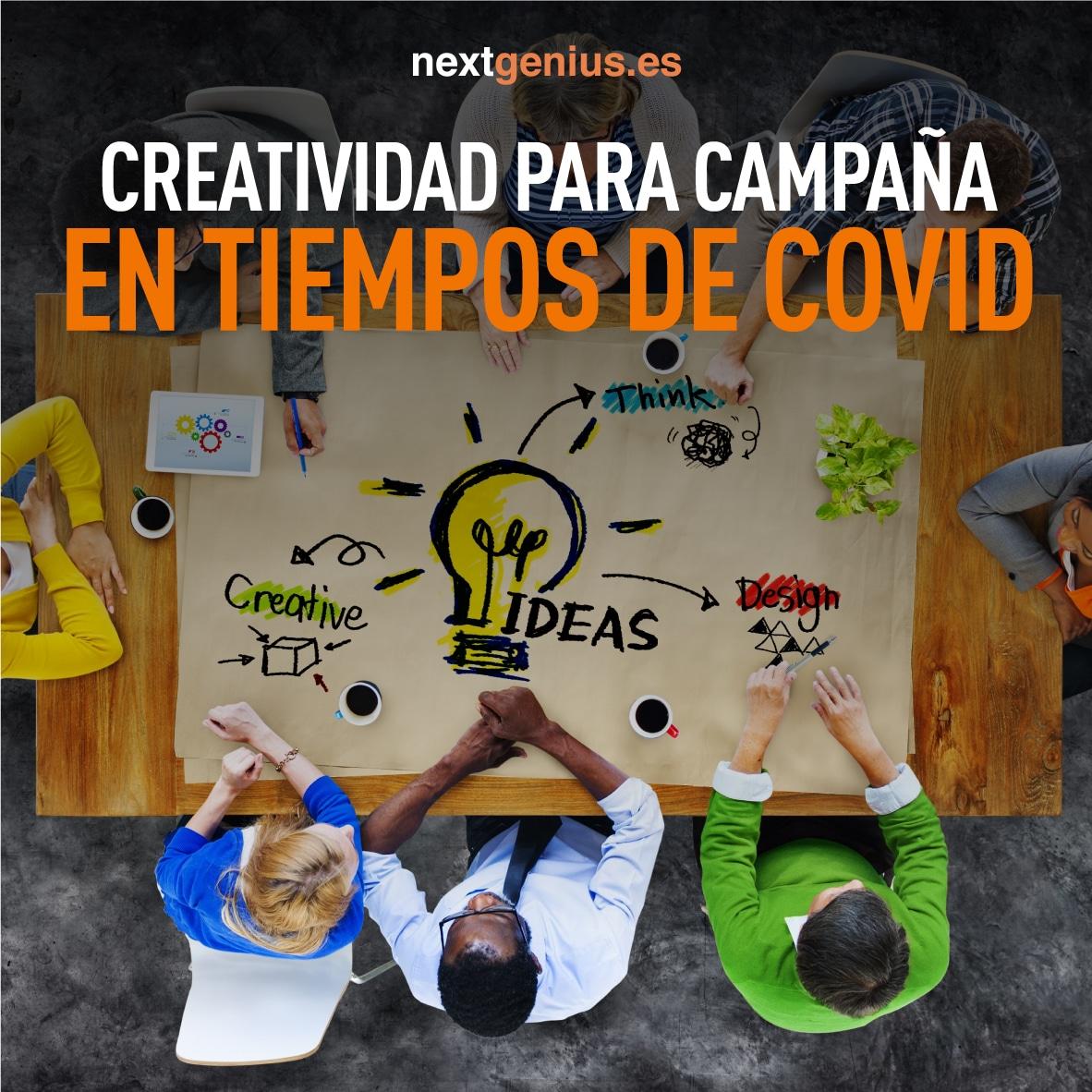 Creatividad para crear una Campaña de Marketing en tiempos de Covid