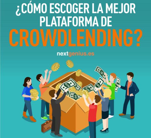 ¿Cómo escoger la mejor plataforma de crowdlending?